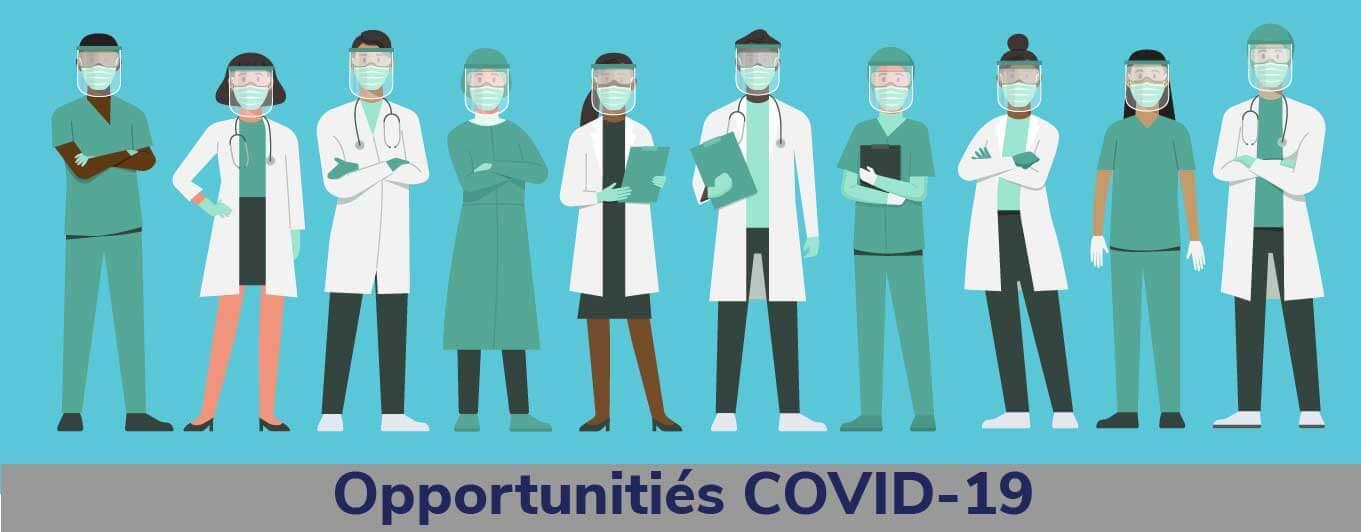COVID-19 Jobs banner