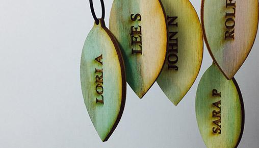 Les feuilles de l'arbre de vie.